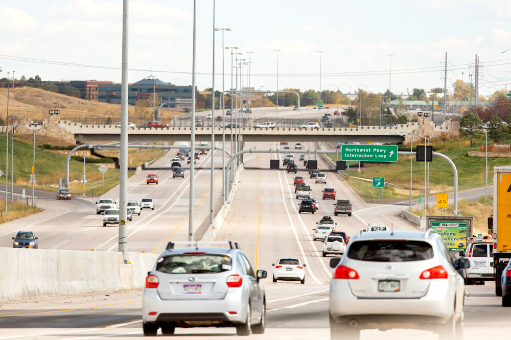 US Highway 36 Express Toll Lanes to Boulder | Plenary Roads Denver